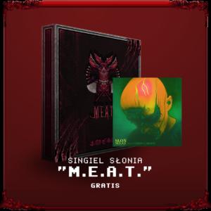 Gra RPG M.E.A.T. w pudełku