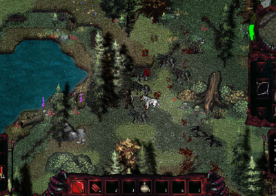 Gameplay M.E.A.T. walka z wilkami