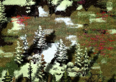 Gameplay M.E.A.T. zimowa łąka