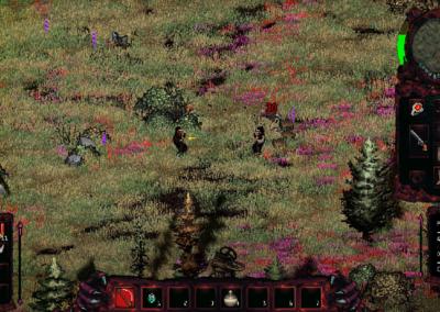 Gameplay M.E.A.T. walka z bandytą