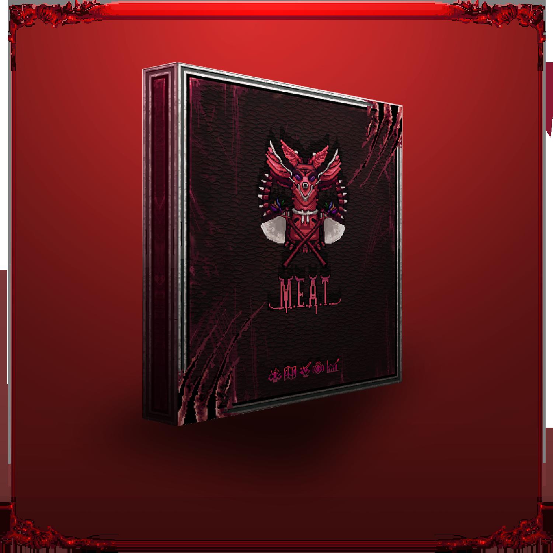 Gra M.E.A.T. w wersji pudełkowej
