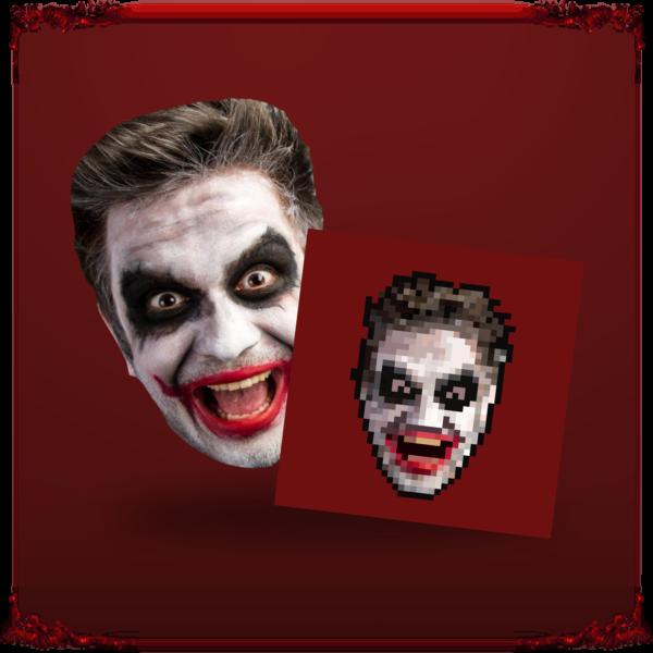 unikalny avatar w stylu pixel art z twoim portretem