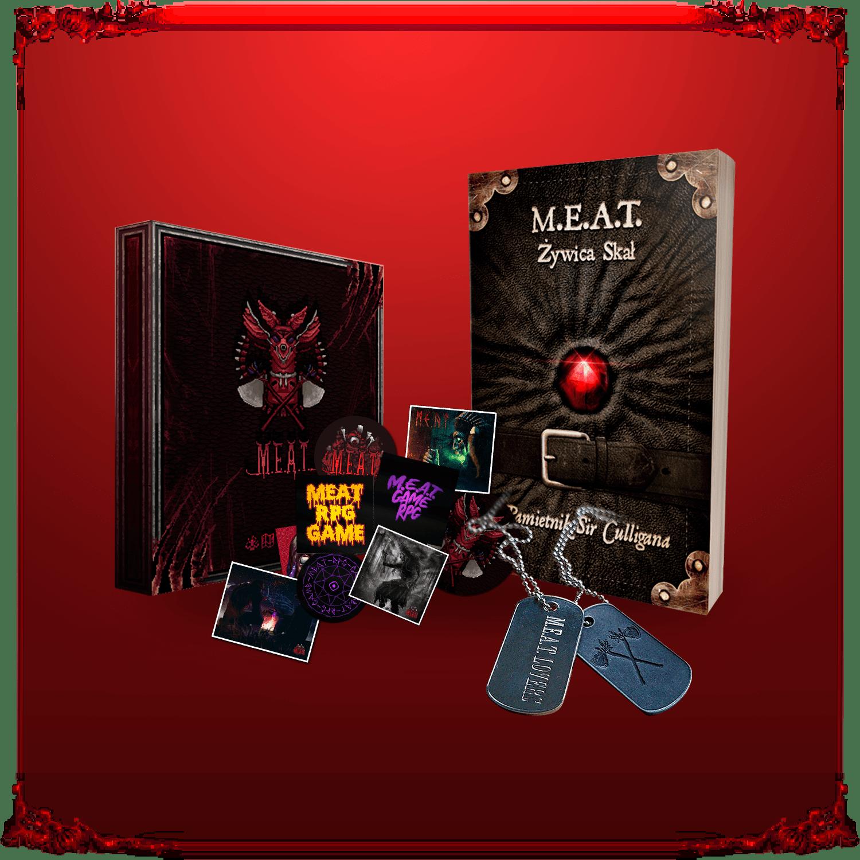 Zestaw Kolekcjonera M.E.A.T. RPG